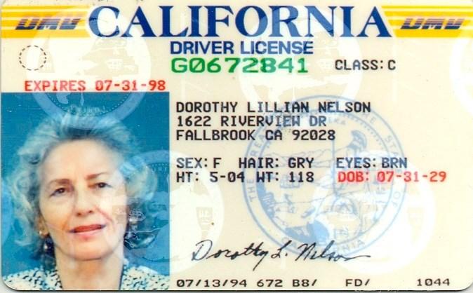 Dorothy Lillian  Nelson