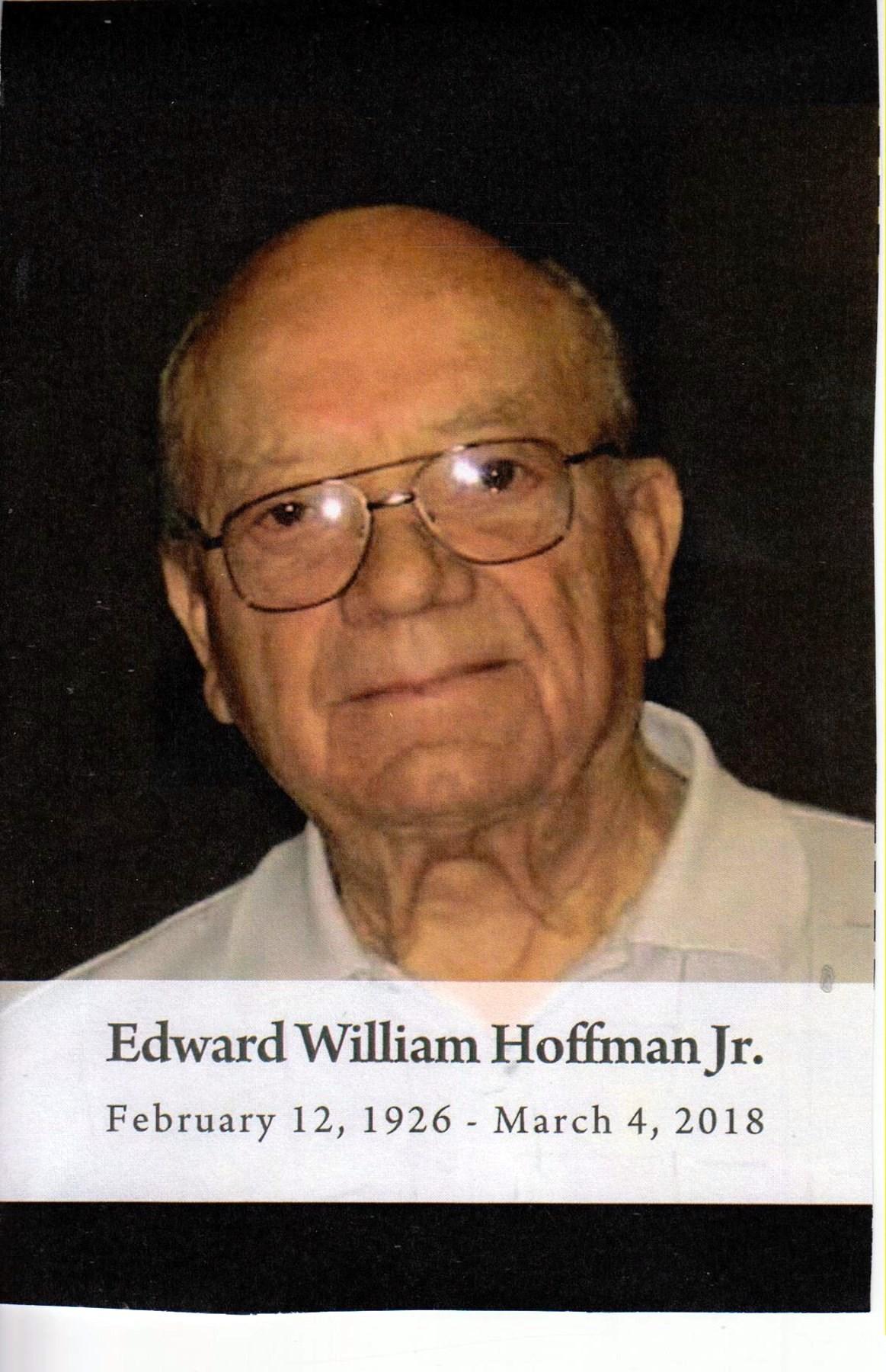 Edward William  Hoffman Jr.
