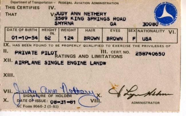 Judy Ann Nethery avis de décès - Marietta, GA