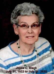 Joyce Christine  Black