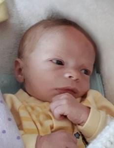 Bébé Mikaël  Boutin