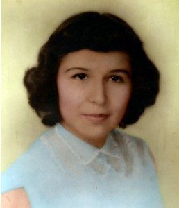 """Consuelo """"Connie"""" R.  Valdez"""