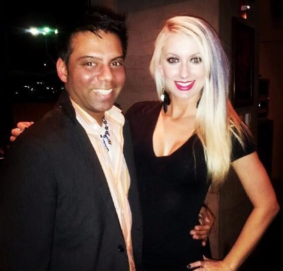 Surendra arvind singh obituary arlington tx stephanie and i at the good night out event winobraniefo Choice Image