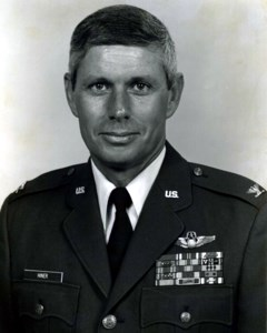 "Brigadier General William ""Bill"" Lee  Hiner U.S.A.F., (Ret)"