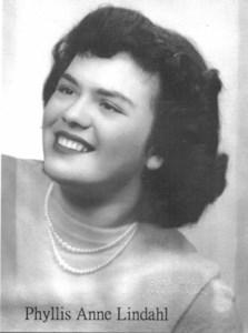 Phyllis Anne  Lindahl