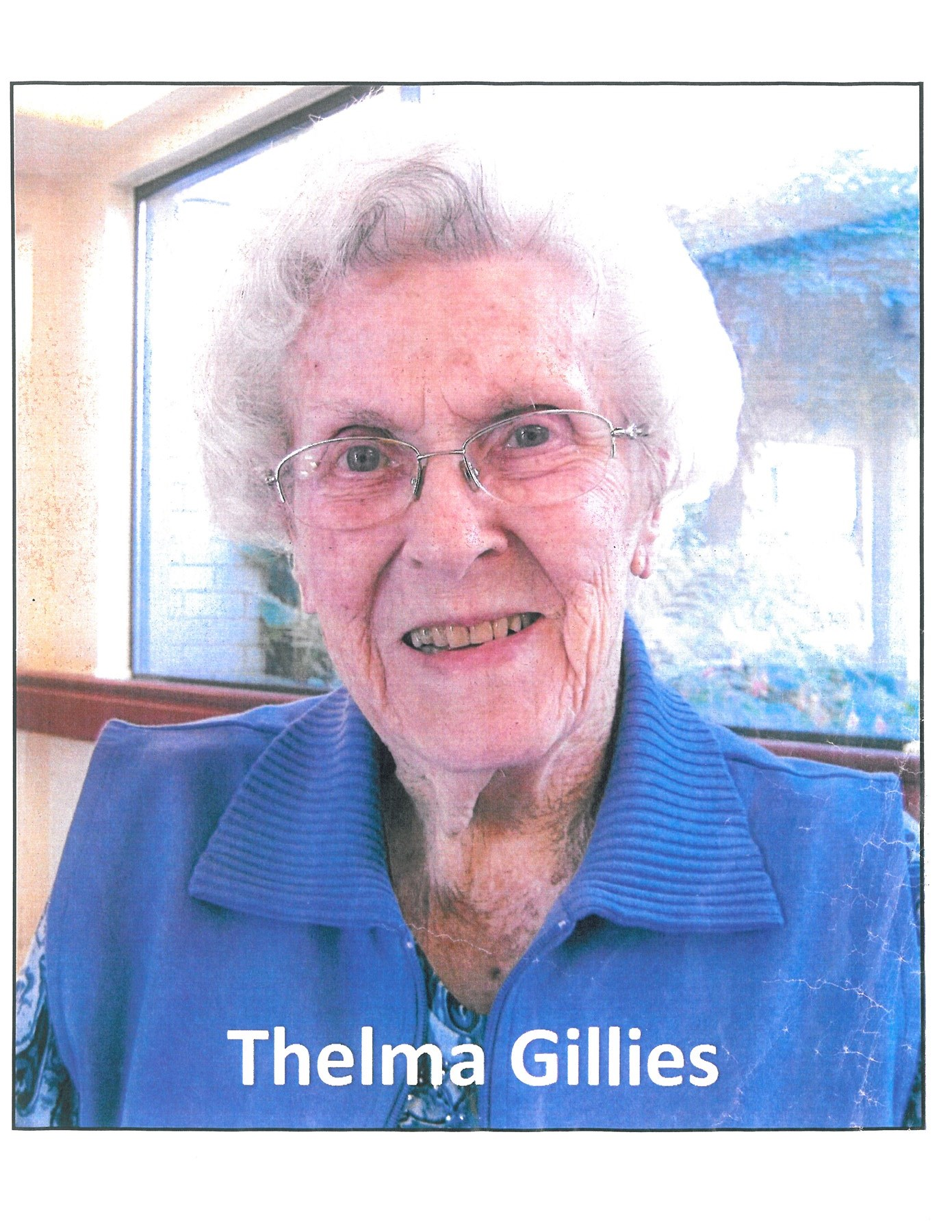 Thelma Ethel  Gillies